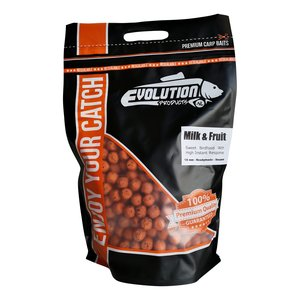 Melk aroma boilies evolution products